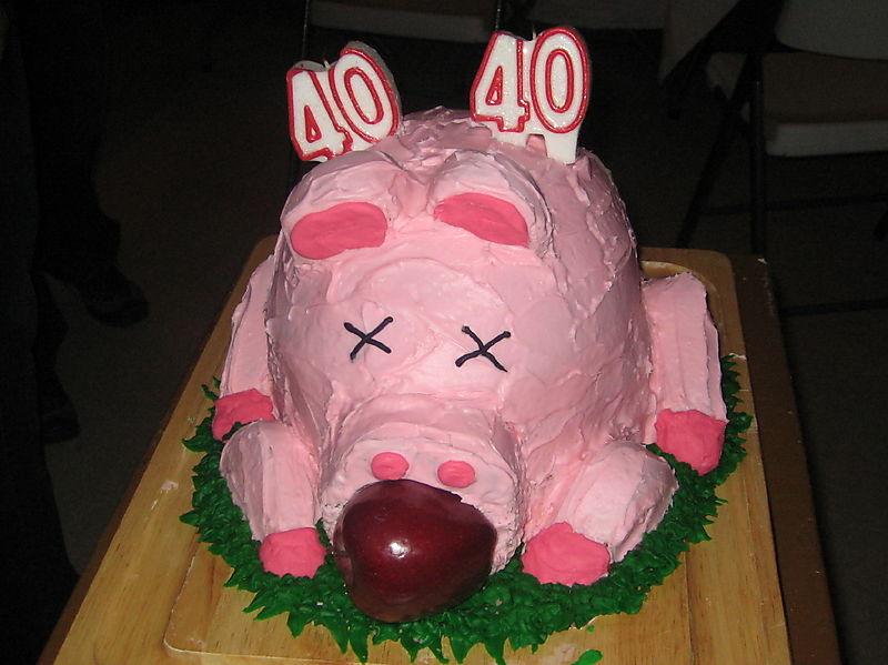 Pig-cake